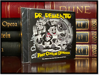 First Century Dementia ✎SIGNED♫ by DR DEMENTO Sealed CD with Autographed Insert