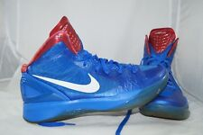 Nike ZOOM Hyperdunk 45,5 - US 11,5 Blake Griffin LA Clippers Blau High Tops