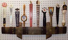 oak whiskey barrel stave 10 beer tap handle wall display