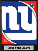 New York Giants Logo Holz Wandbild 30 cm,Plaque NFL Football ,kleiner Fehler !