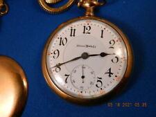 Working Antique Vintage Illinois Pocket Watch Sangamo 21 Ruby Jewels