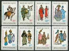 Rwanda - 269/276 - Costumes Nationaux I - 1968 - MNH