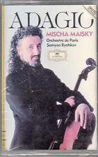 K 7 AUDIO (TAPE) ADAGIO / MISCHA MAISKY  / SEMYON BYCHKOV (NEUVE)