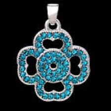 LATEST FASHION JEWELRY GEMSTONE S80 SILVER PENDANT WITH CHAIN 16in