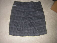 Columbia Surf Hawaiian Board SHORTS Men's Size 36 Black