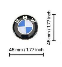 BMW Blue 45MM Steering Wheel/AIRBAG Center Cap Cover Round emblem badge LOGO