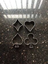 Heart,Clubs,Spades And Diamonds Deck Of Cards Cutters