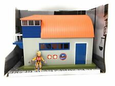 Fireman Sam Mini BOATHOUSE Playset With PENNY - NEW But NO BOX