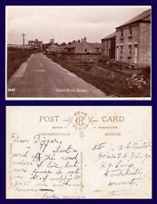 UK NORFOLK CHURCH DROVE OUTWELL COATES REAL PHOTO ADDRESSED TO 'DIGGER'