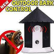 Outdoor Bark Control Unit. Ultrasonic- Stop Dogs Barking.