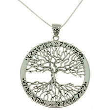 Wiccan Twisted Tree of Life Amulet Sterling Silver Pendant Mickie Mueller Design