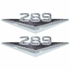New 1965-66 Mustang 289 Fender Emblems Pair 1963-64 Fairlane 1965 Falcon Ford