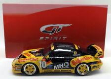 Voitures miniatures de tourisme jaunes pour Porsche 1:18