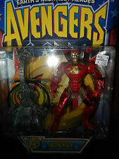 Iron Man with Power Converter Marvel Collector Series Avengers Heroes Reborn '97