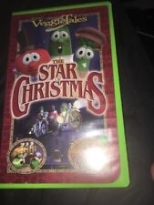 VeggieTales The Star of  Christmas VHS Movie VCR Tape