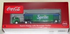 Athearn Coca Cola 8236 Sprite Ford & Sprite Beverage Trailer-Super RARE--New HO