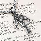 Viking Rune Tiwaz Stainless Steel Pendant Necklace photo