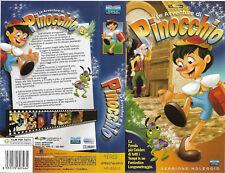 LE AVVENTURE DI PINOCCHIO (2001) vhs ex noleggio