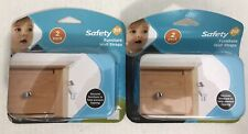 Safety 1st Furniture Wall Straps 2 Pack #11014 Lot Of 2