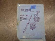 Triumph Tiger Cub Replacement Parts Catalog  manual  #11   1054