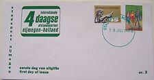 Stadspost Nijmegen - FDC Vierdaagse 1988, wandelen en Keizer Traianus