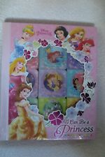 Disney Princess I Can Be a Princess Book Block 9 Chunky Board Books New