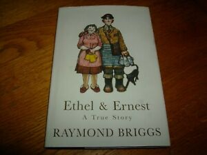RAYMOND BRIGGS-ETHEL AND ERNEST-1ST-1998-JONATHAN CAPE-HB-VG/NF-V RARE