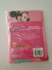 NEW Disney Junior Minnie Mouse Preschool Nap Mat Sheet 19in x 44in x 1in