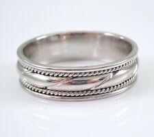 Men's PLATINUM Wedding Ring Anniversary Band Unisex Size 10.25