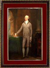 Alexander Hamilton Framed Art Print Art by John Trumbull with Mat