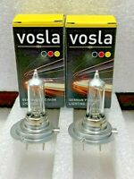 2x- Vosla H7+100 Lamps Made In Germany BRIGHT!  WAY better then Xtravision!!!