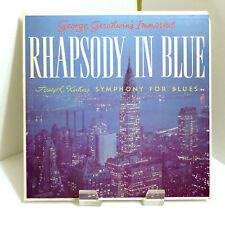 1958 Percy Faith Gershwin Immortal Rhapsody in Blue Kuhn SF-1800 Mint Stereo LP