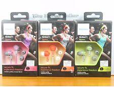 Genuine Philips SHQ2300 Sports In-Ear headphones Earphones ActionFit Waterproof