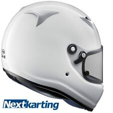 Arai Kart CMR Childs Race White CK-6 Helmet in Medium Snell Approved