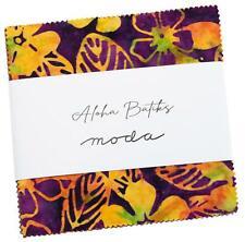 "Moda, Aloha Batiks, 5"" Charm Pack, Fabric Quilting Squares, 4356PP, SQ78"