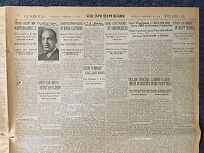 The New York Times Newspaper,February 18, 1943 (Song May-Ling speech day).