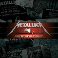 Metallica Six Feet Down Under PT 1 & 2 Australian Tour-only 2cd Set New/unplayed