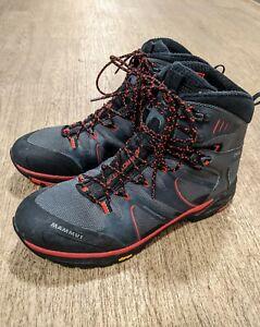 Mammut T Aenergy TRAIL HIGH GTX Goretex Vibram Hiking Boots Size UK 11