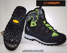 Scarpe da uomo Crispi Ascent trekking goretex tecnica impermeabile scarponcino