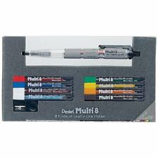 Pentel PH802ST Pencil Lead Holder and Lead Set, Multi 8 Set Japan Free ship