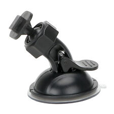 1X Car GPS Suction Cup Mount Bracket Holder Black for Dash Camera Video Recorder