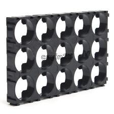3x5 baterías de 18650 celdas de soporte de calor de Plástico Espaciador radiante Shell soporte de Reino Unido