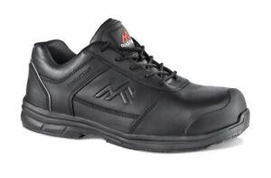 Rock Fall RF002 Zinc Conductive Safety Trainer leather men's size EU46 / UK11