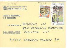 D7533 - ITALIA 1988 - FOLCLORE  - N. 1842 - SASSARI, CANDELIERI  - VEDI FOTO