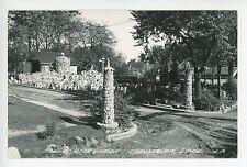 Powers Rock Garden RPPC Chamberlain SD Vintage Photo 1940s