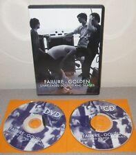 FAILURE Golden Orig 2004 2 Disc DVD CD Set w/Unreleased Ken Andrews Greg Edwards