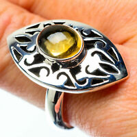 Large Citrine 925 Sterling Silver Ring Size 10 Ana Co Jewelry R25477F