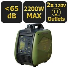 Sportsman 2200-W Quiet Portable Gas Powered Inverter Generator Home RV Camping