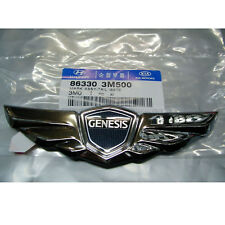 86330 3M500 Genuine  Rear Trunk Wing Emblem For 2009 2014 Hyundai Genesis Sedan