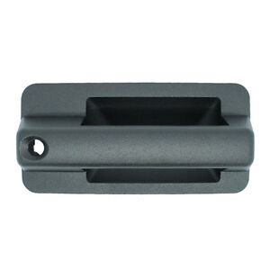 Outside Door Handle Front Right Passenger Exterior Chevy C/K Black Textured